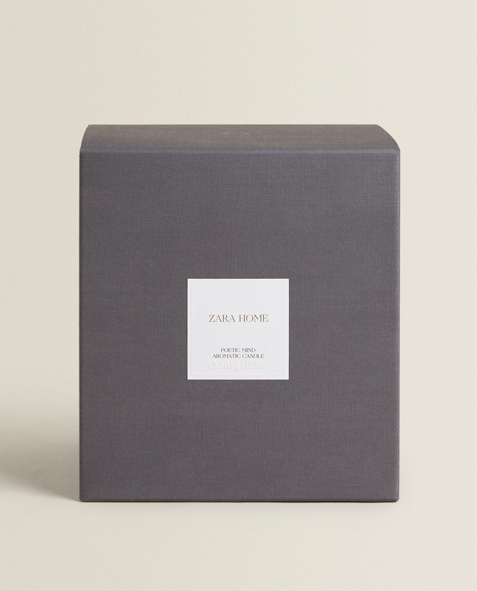 (3.6 KG) POETIC MIND SCENTED CANDLE