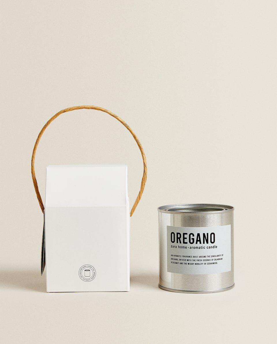 (250 G) OREGANO SCENTED CANDLE