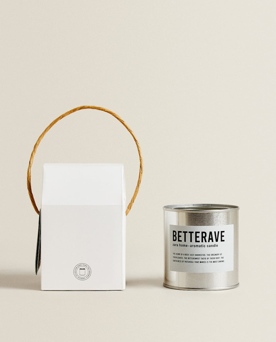 (250 G) BETTERAVE SCENTED CANDLE