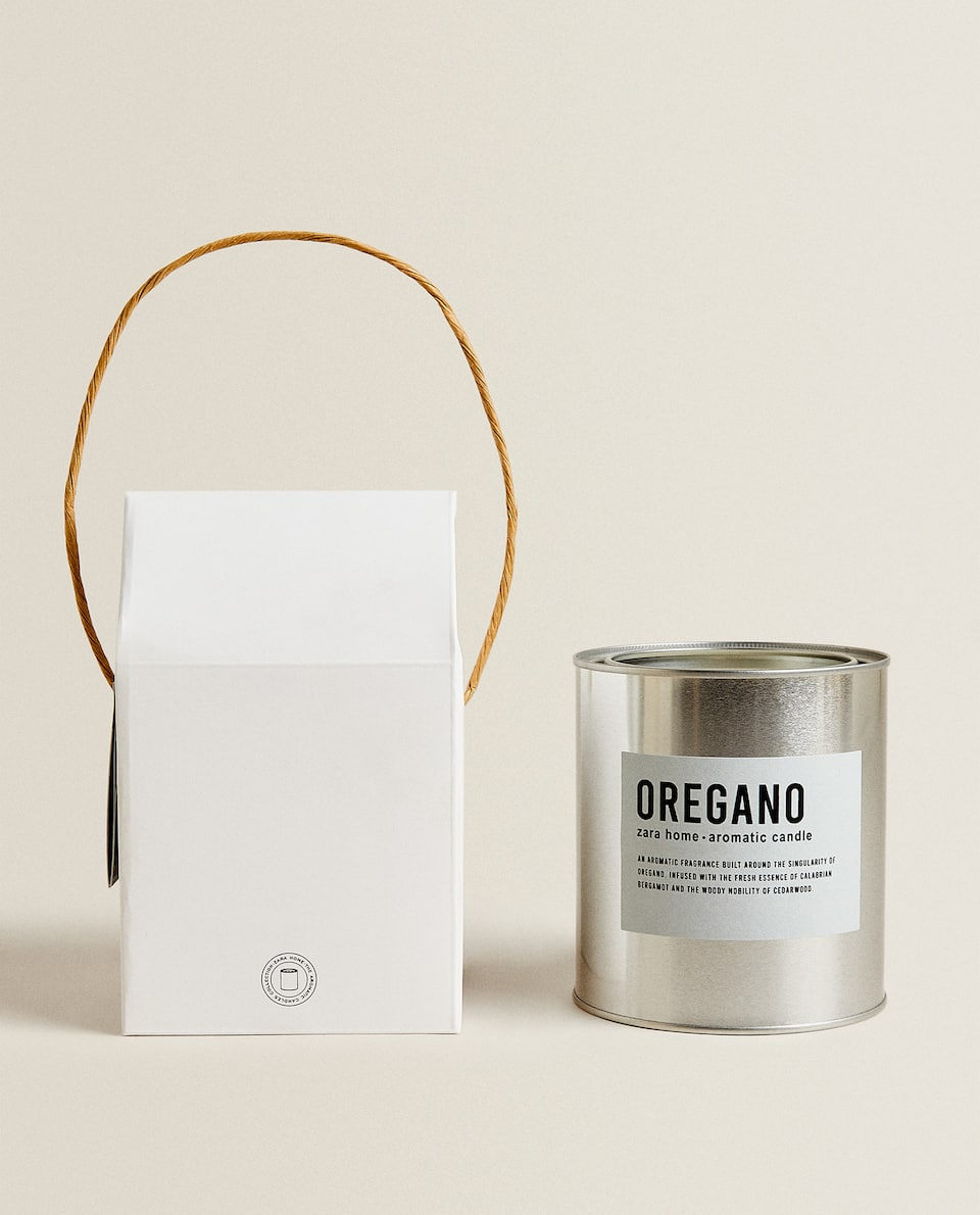 (700 G) OREGANO SCENTED CANDLE