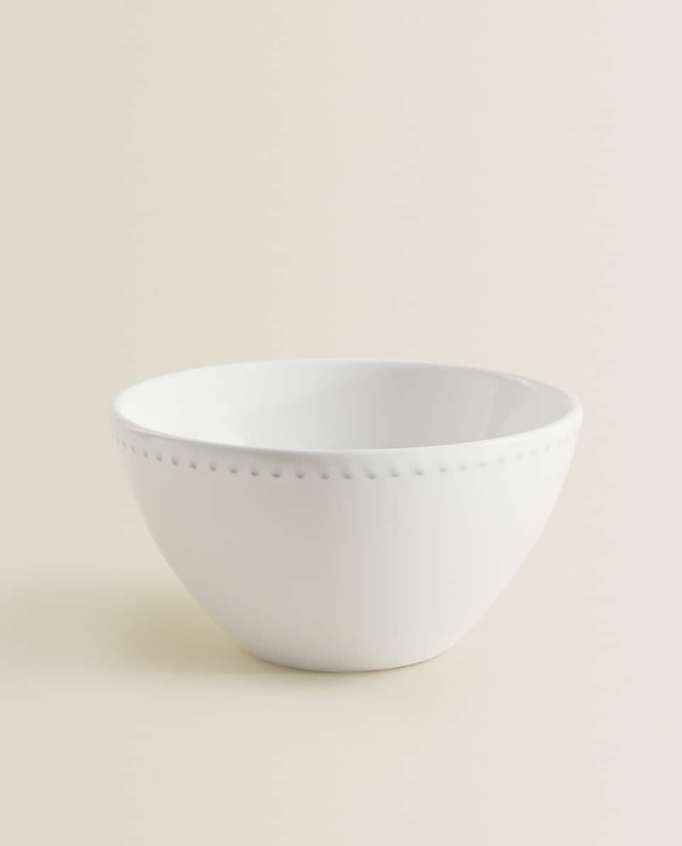 RAISED-EDGE CUP BOWL
