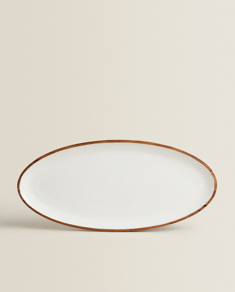 OVAL LACQUERED TRAY