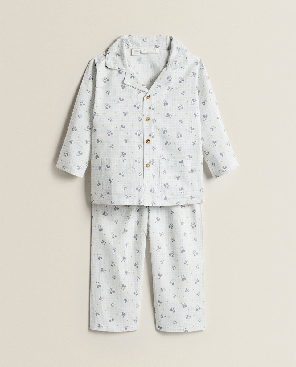 COTTON PYJAMAS WITH MICKEY PRINT