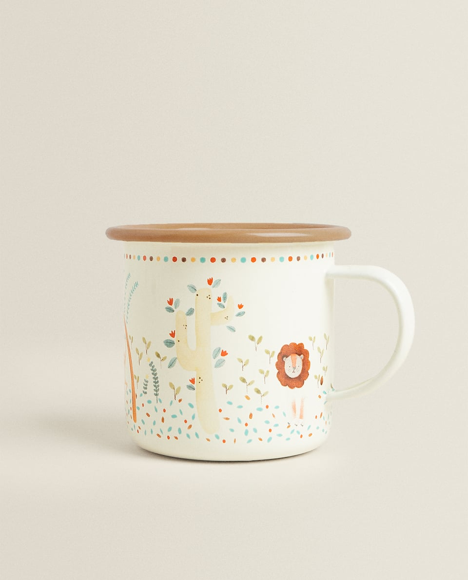 ENAMELLED JUNGLE MUG