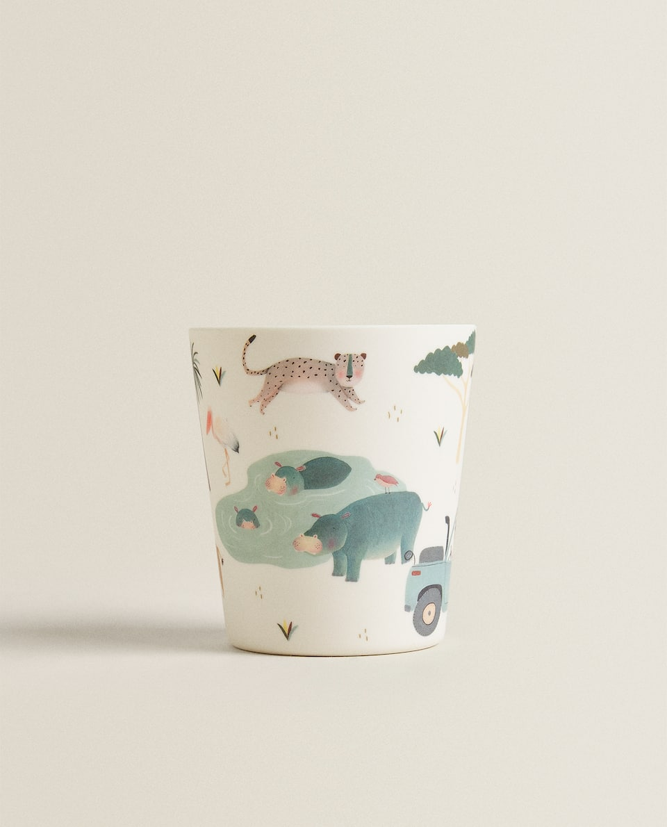 ANIMAL MELAMINE MUG