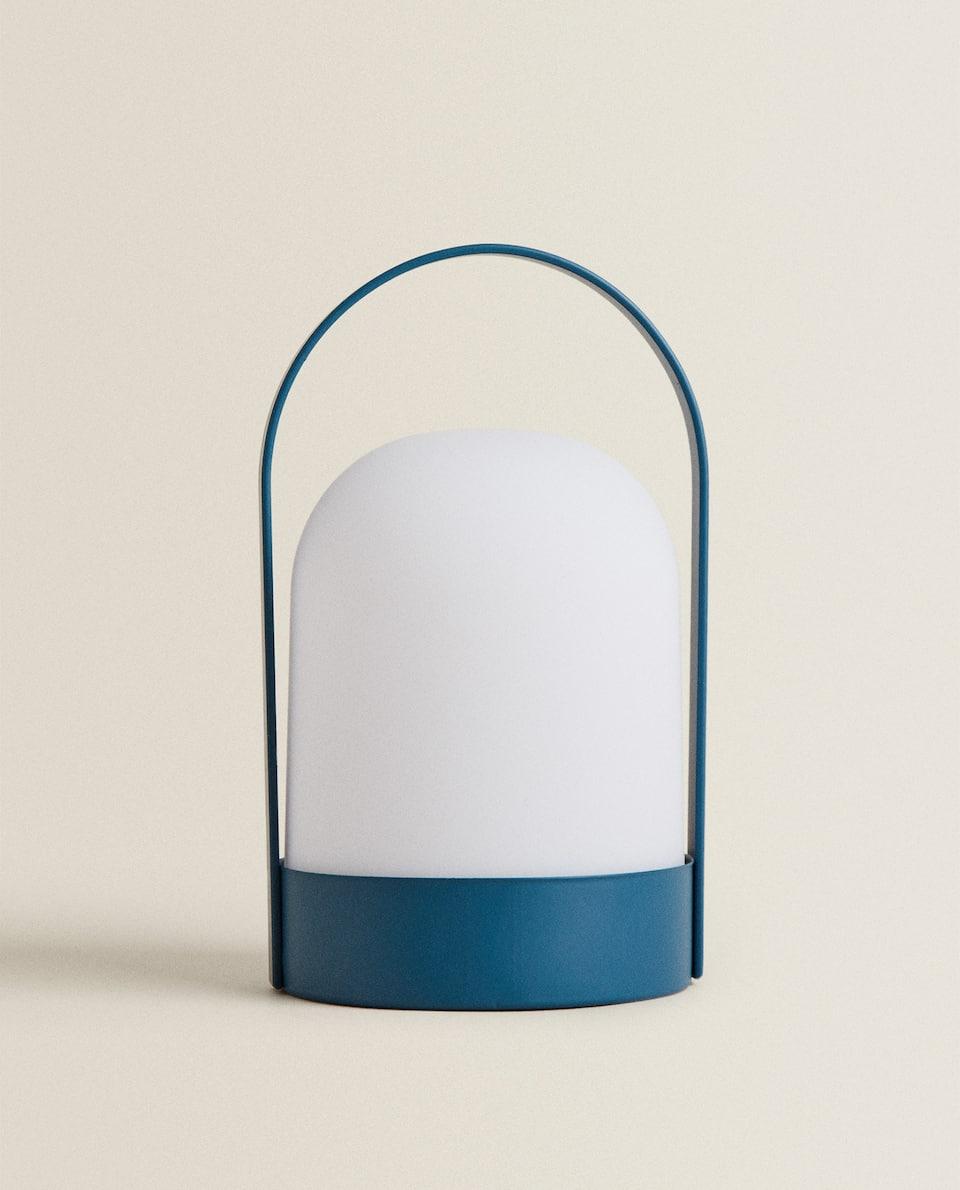 LAMPE LED PORTABLE BLEUE