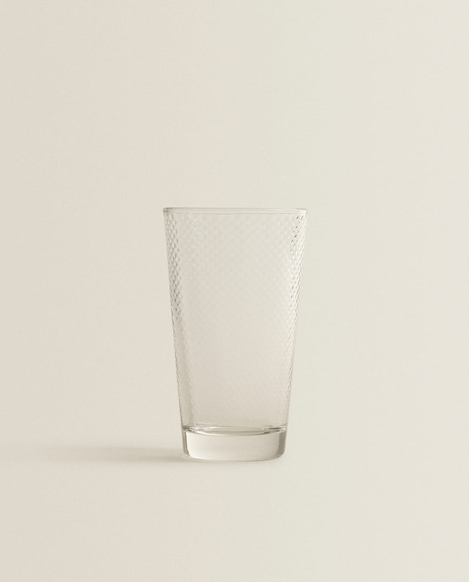 RAISED DESIGN SOFT DRINK TUMBLER