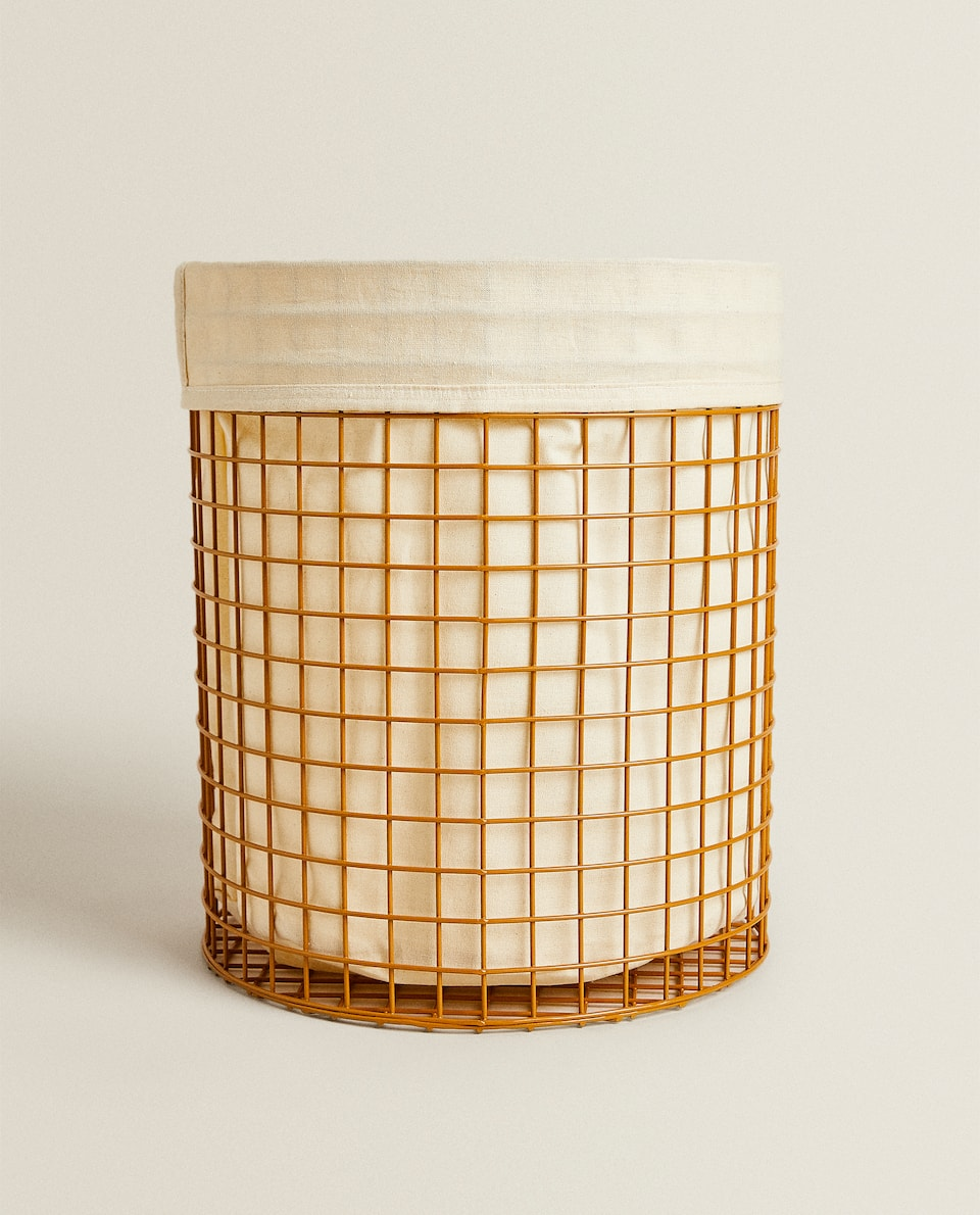 METAL WASTEPAPER BASKET
