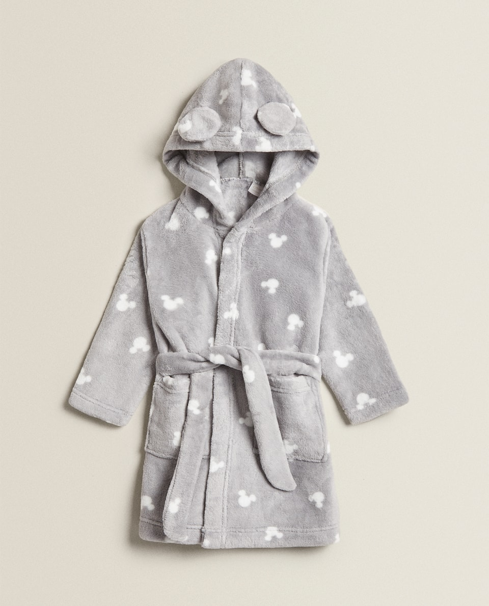 MICKEY MOUSE FLEECE DRESSING GOWN