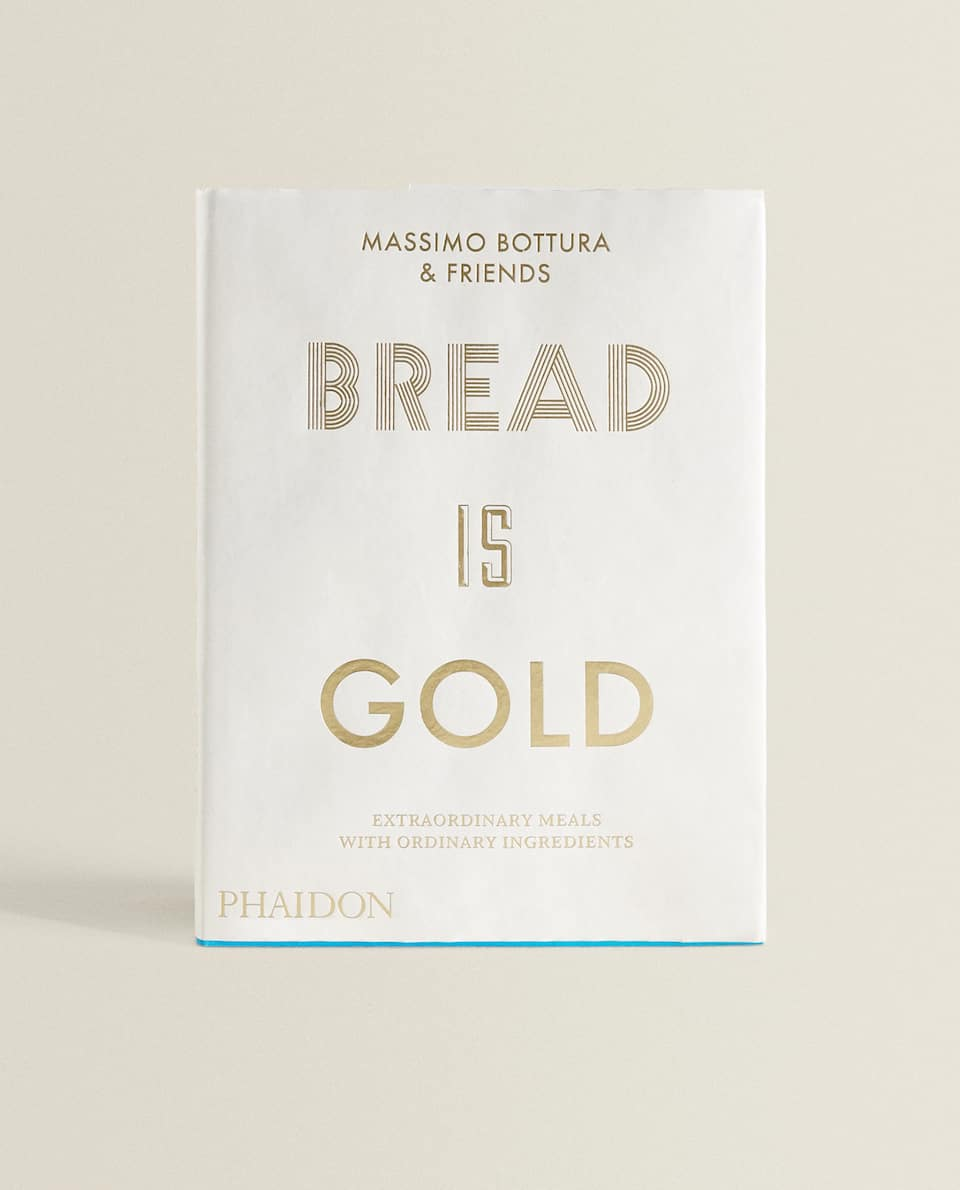 """""""BREAD IS GOLD"""" RECIPE BOOK BY PHAIDON"""