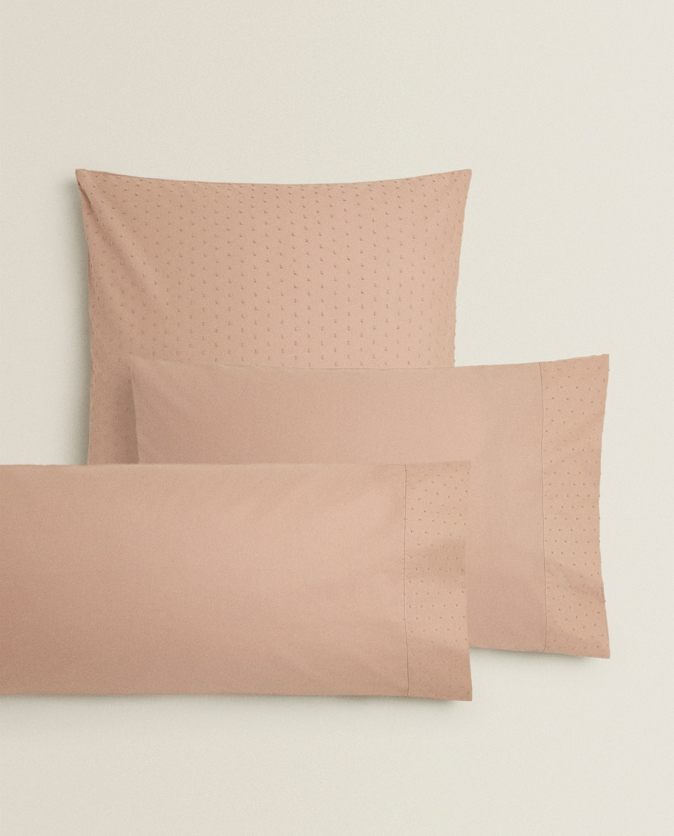 DOTTED MESH PILLOWCASE