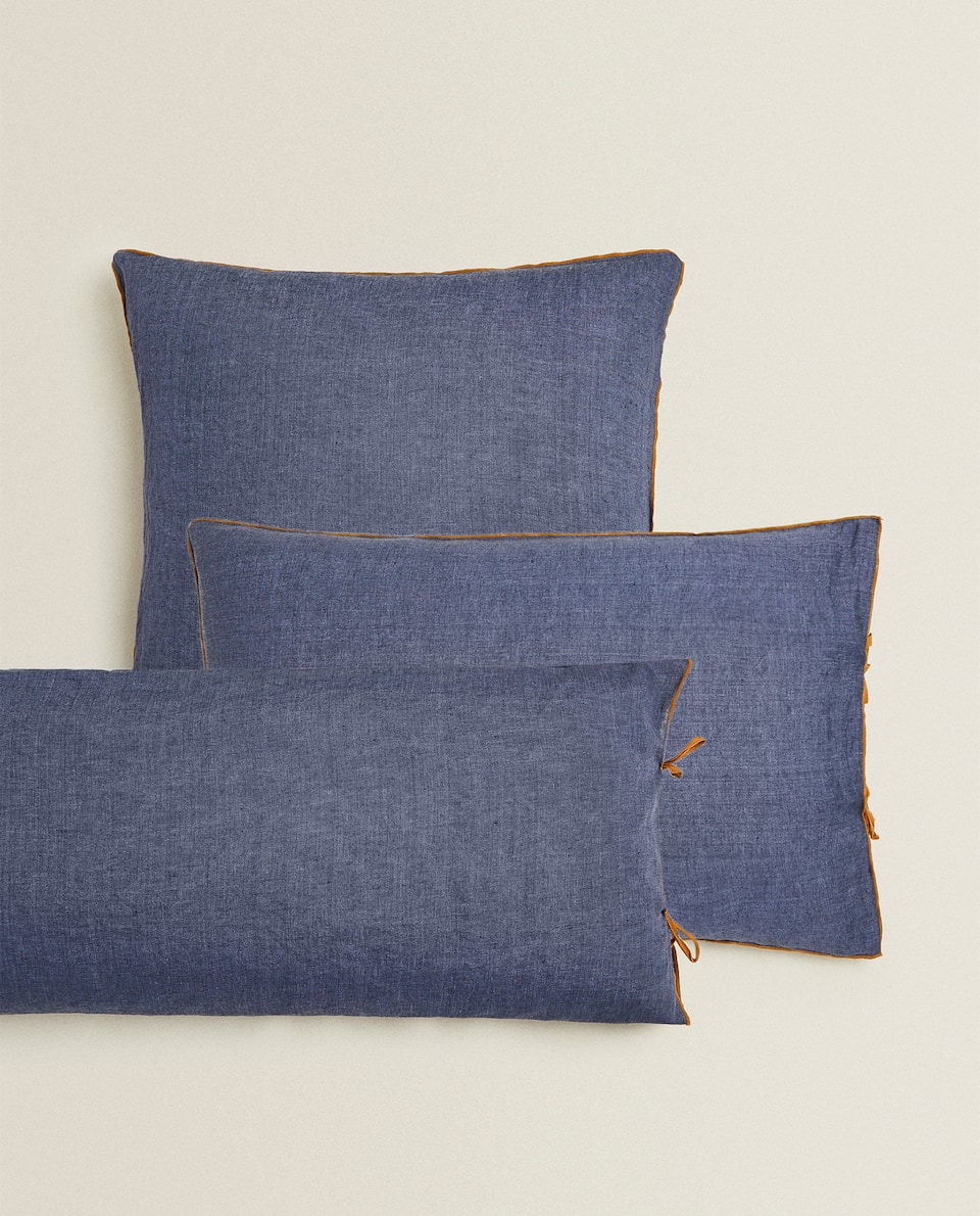 MELANGE LINEN PILLOWCASE