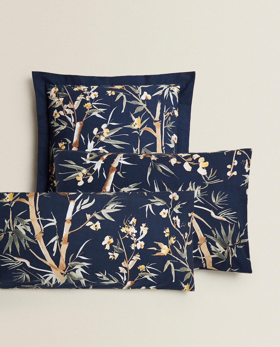 BAMBOO PRINT PILLOWCASE