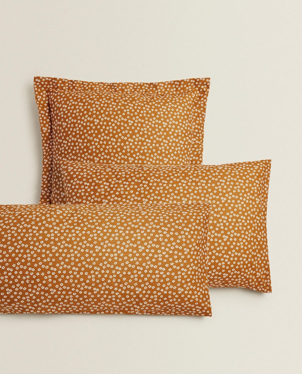 MINI FLORAL PRINT PILLOWCASE