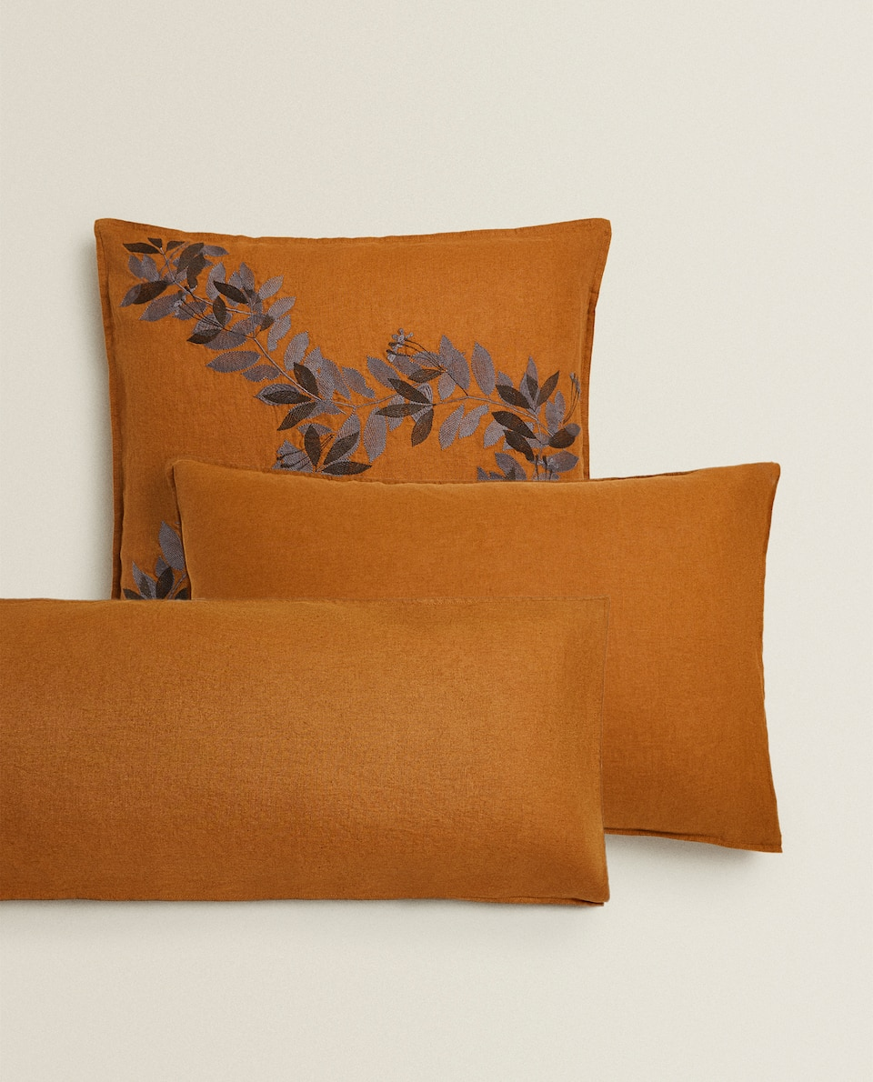 CARAMEL LINEN PILLOWCASE