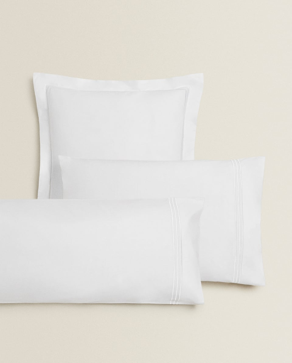 TRIPLE TRIM PILLOWCASE
