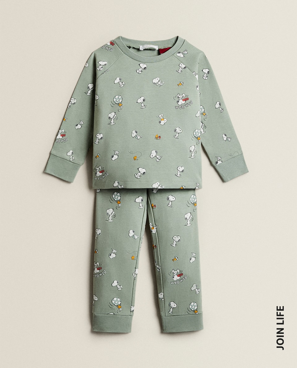SNOOPY COTTON PYJAMAS