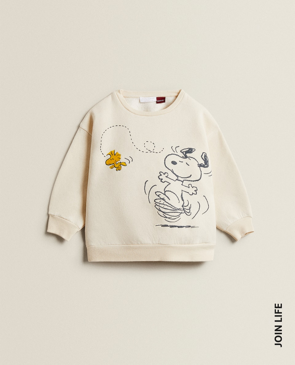 PLUSH SNOOPY SWEATSHIRT