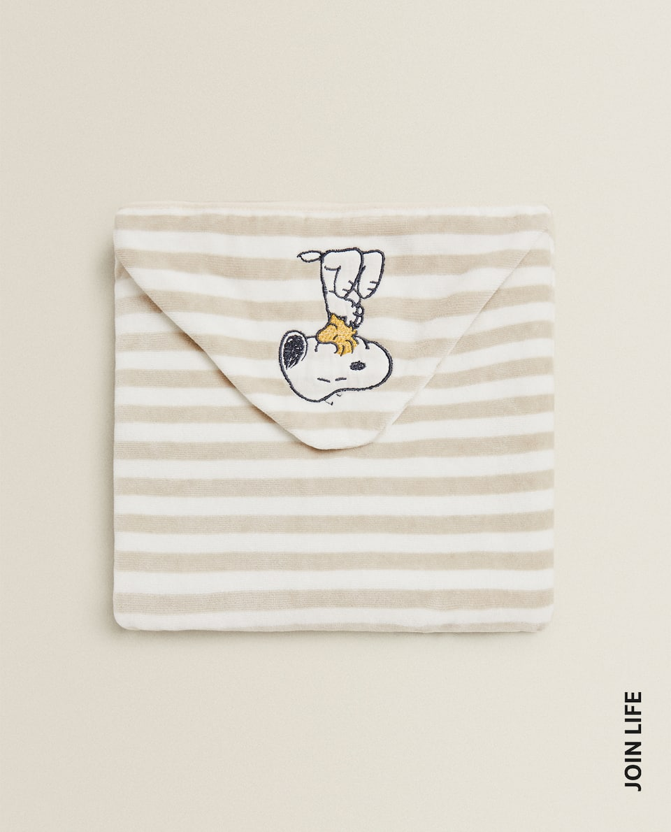 SNOOPY HOODED TOWEL