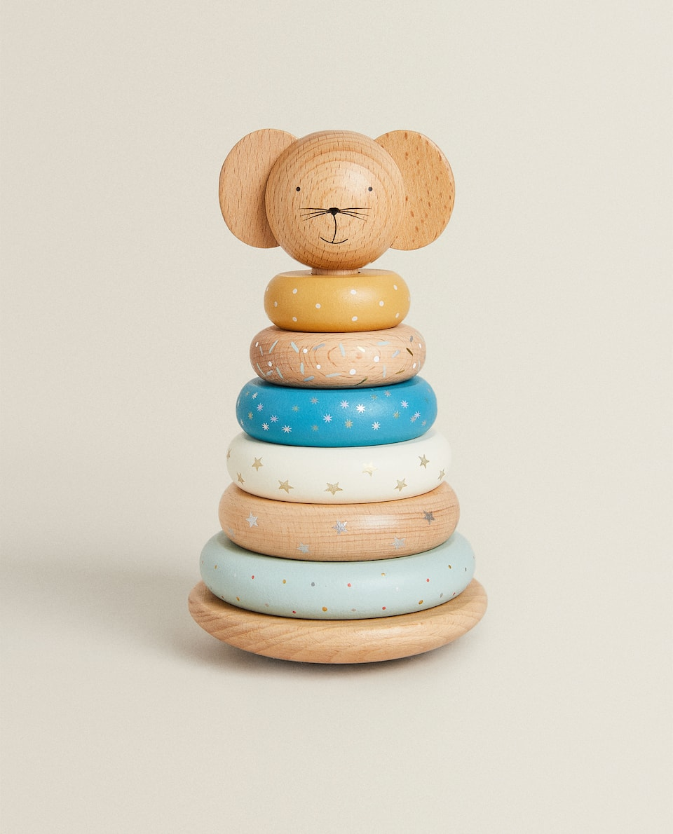 STACKABLE MOUSE PYRAMID TOY