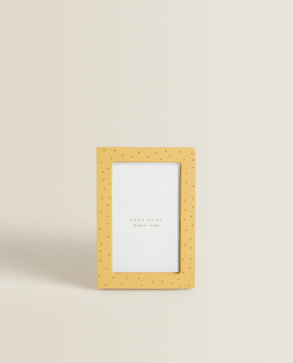 MUSTARD YELLOW DOT FRAME