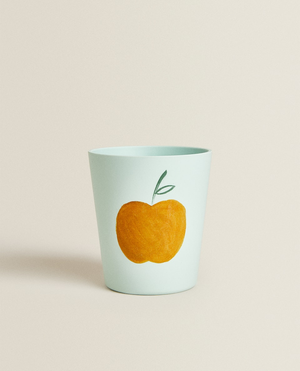 APPLE MELAMINE TUMBLER
