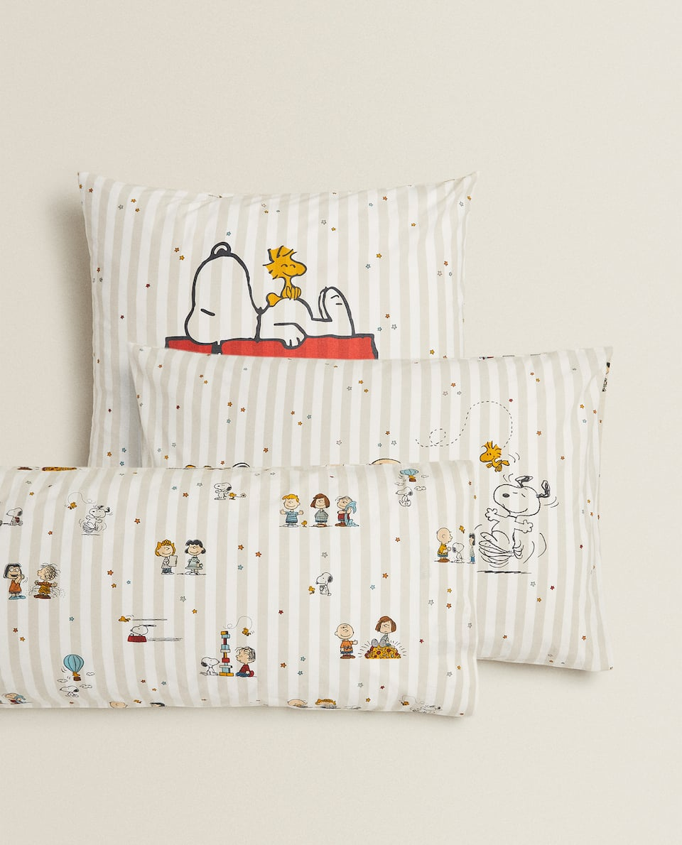 SNOOPY PRINT PILLOWCASE