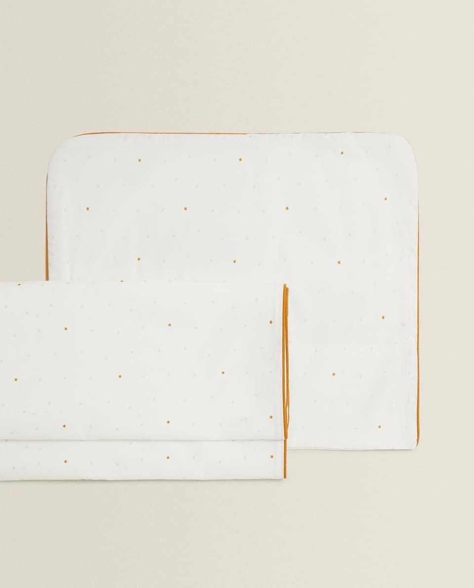 PACK OF STAR COT SHEETS
