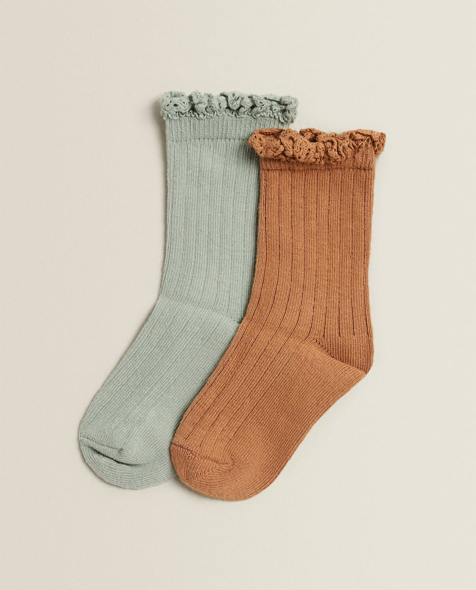 LACE SOCKS (PACK OF 2)