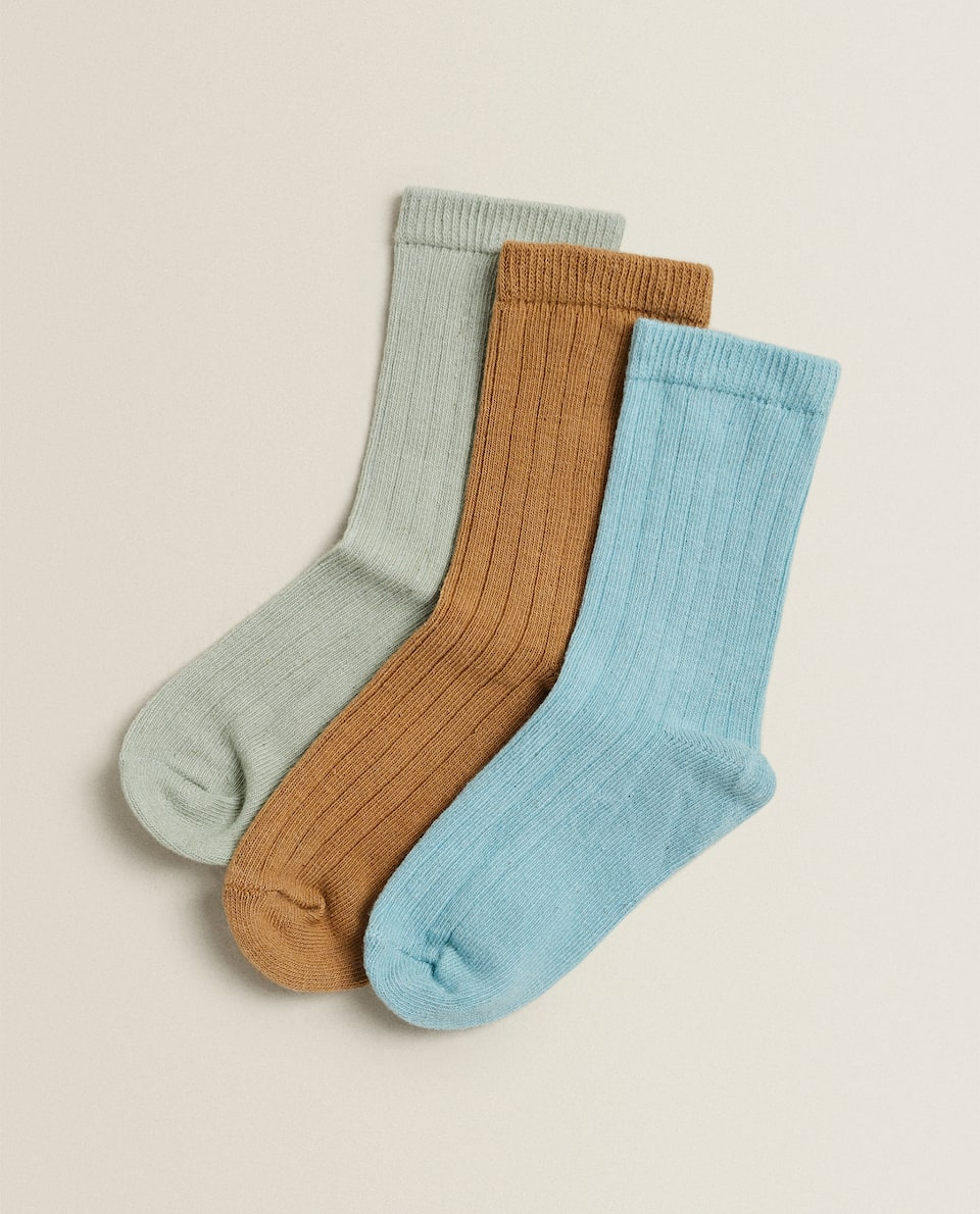 PLAIN SOCKS (PACK OF 3)