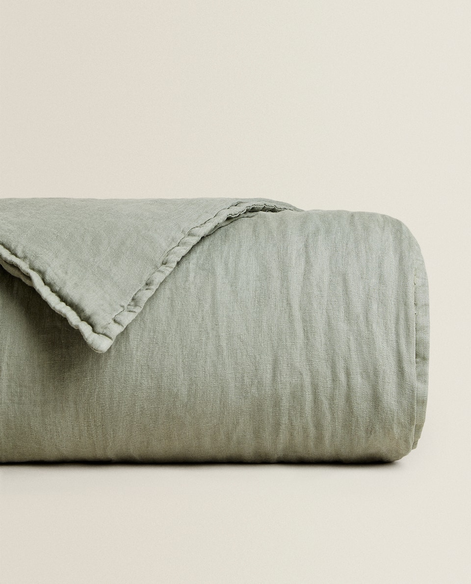 WASHED LINEN QUILT