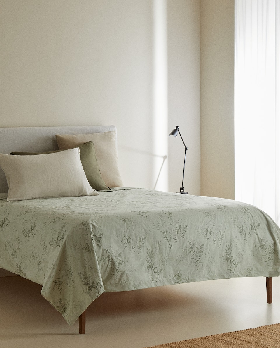 BRANCH PRINT DUVET COVER
