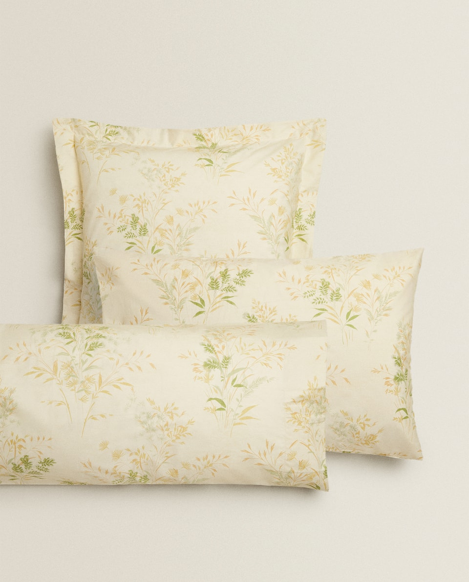 BRANCH PRINT PILLOWCASE