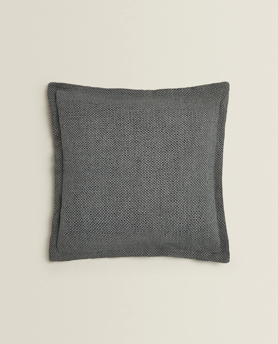 WASHED CUSHION COVER