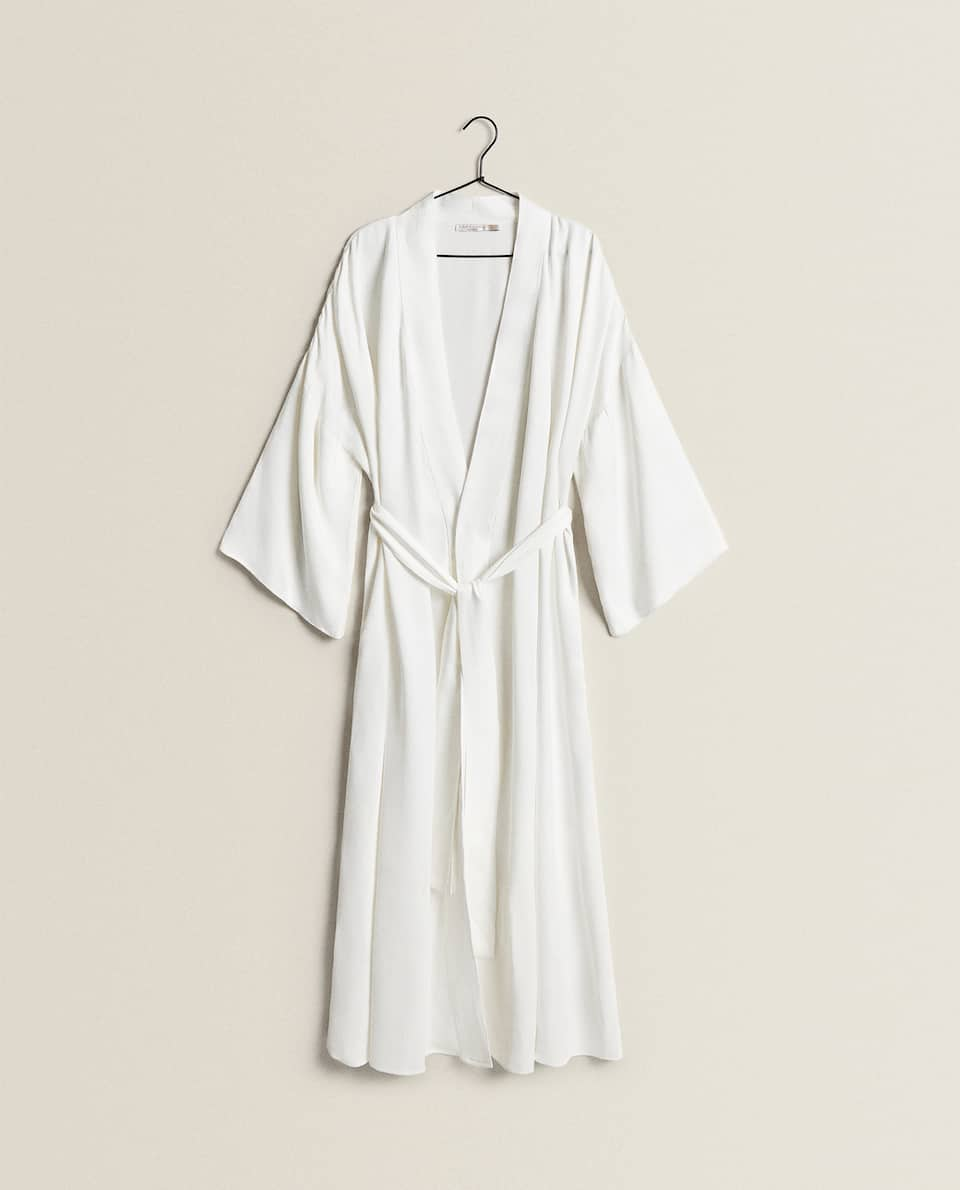 BELTED BATHROBE