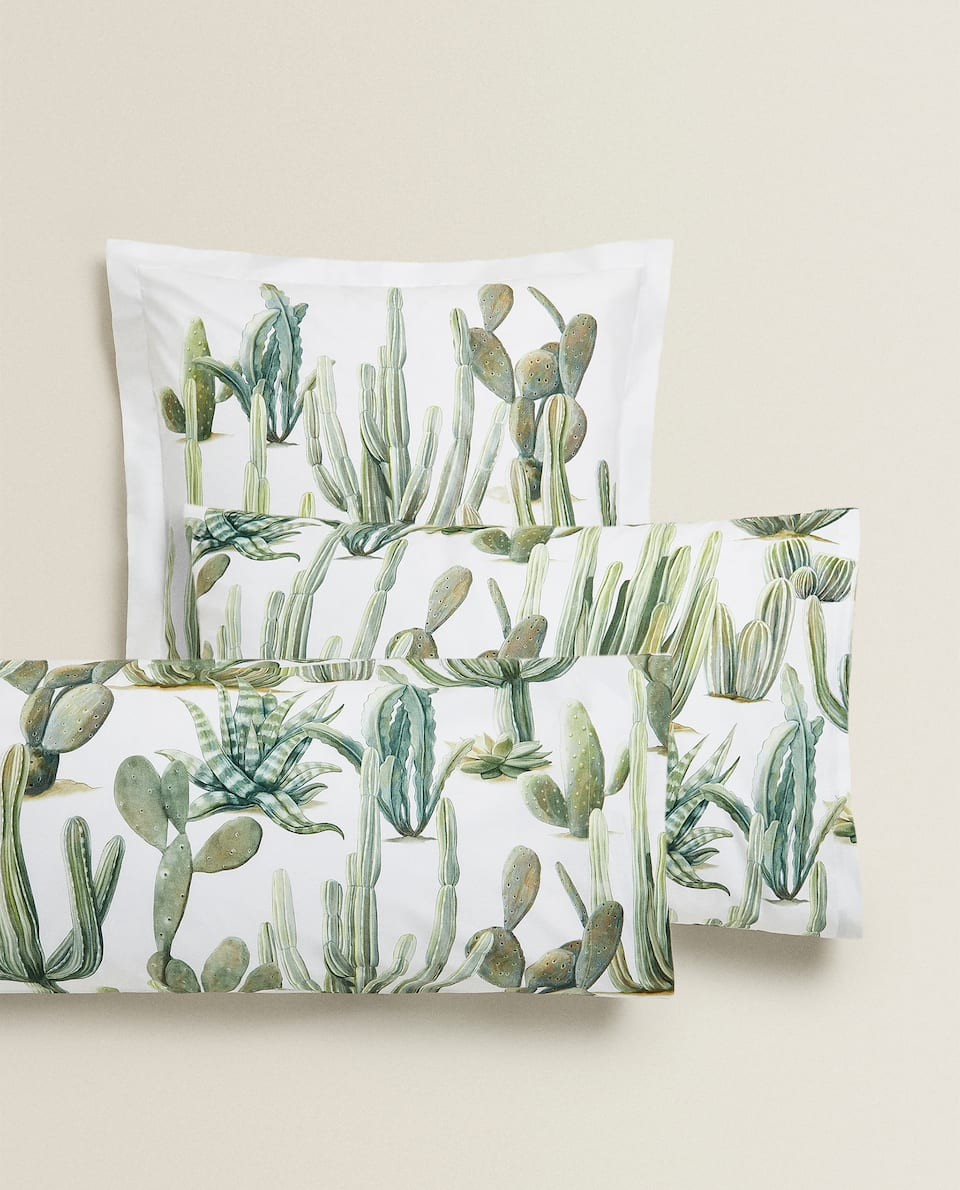 CACTUS PRINT PILLOWCASE
