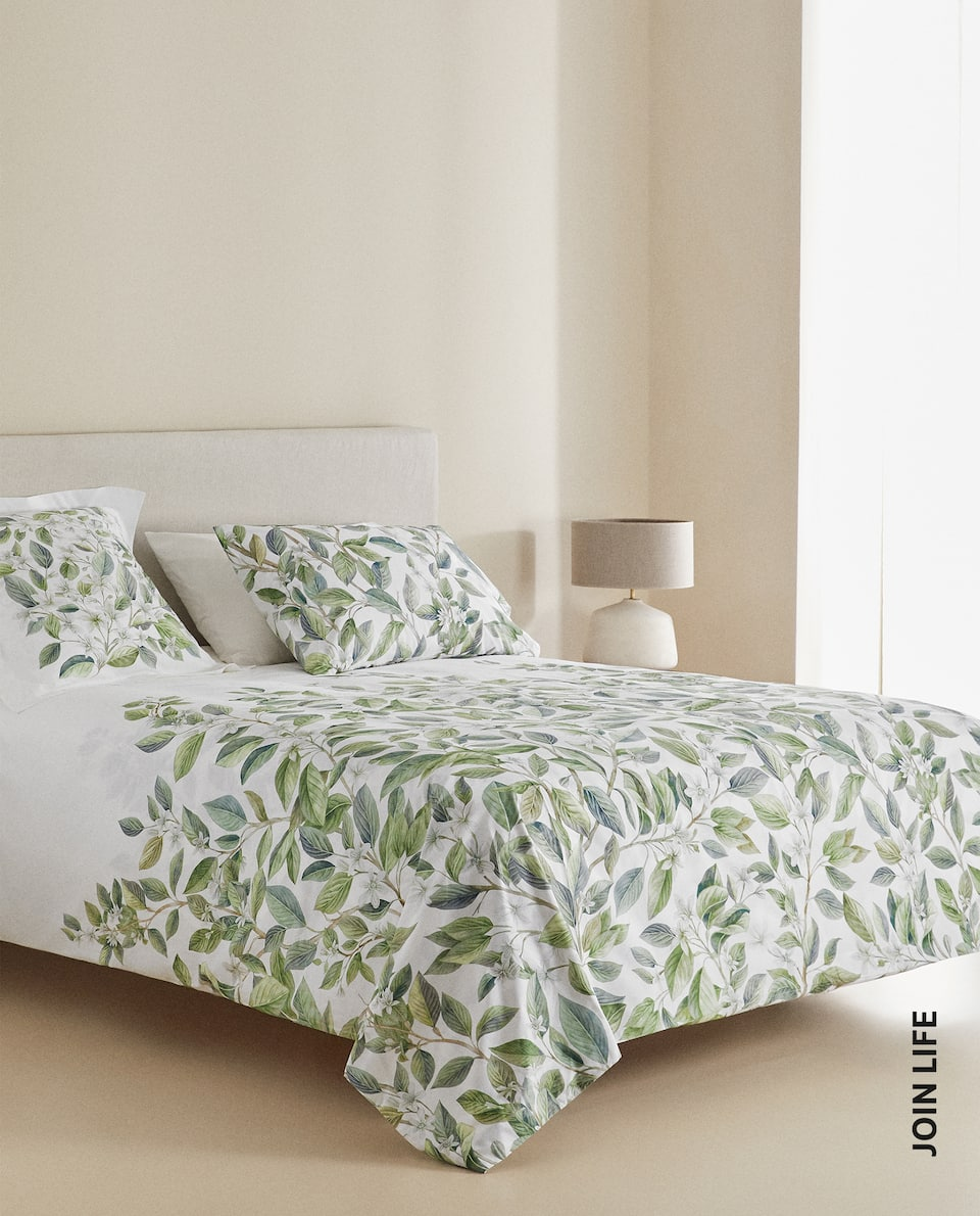 LEMON TREE BRANCH DUVET COVER