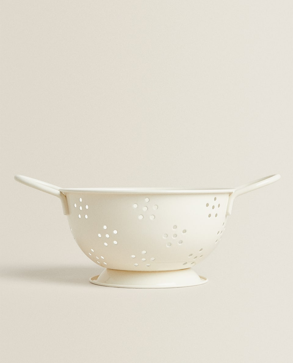 ENAMELLED STEEL MINI COLANDER