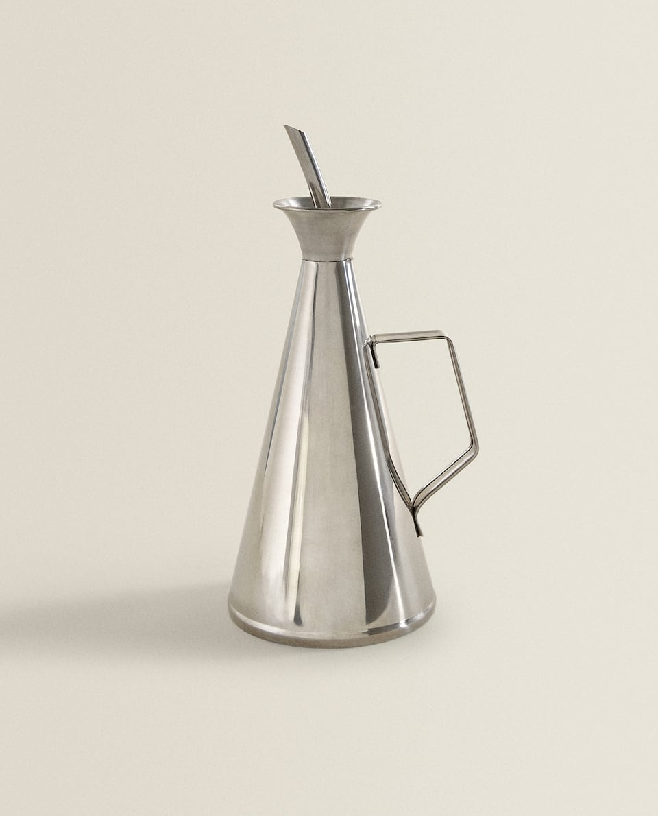 STAINLESS STEEL OIL/VINEGAR CRUET