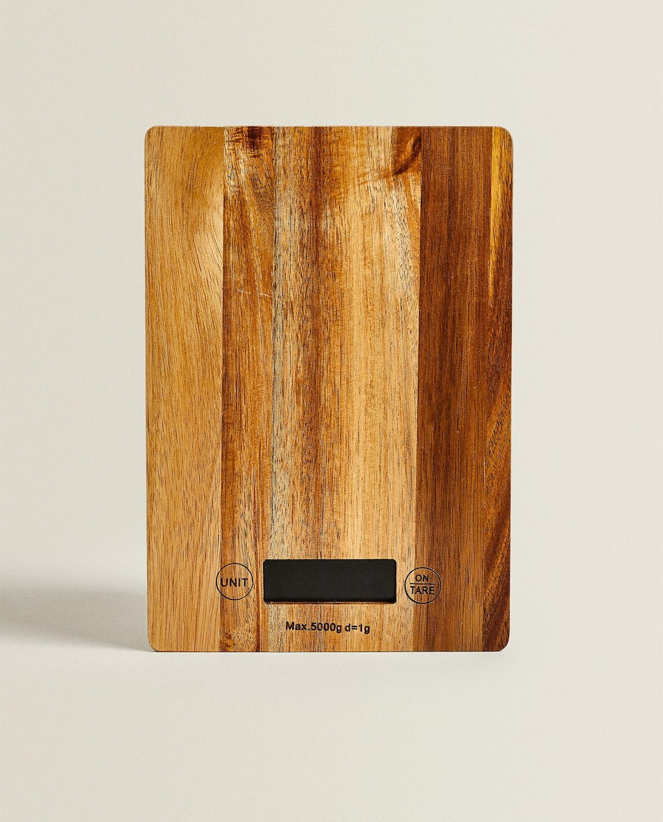 WOODEN PRECISION SCALES