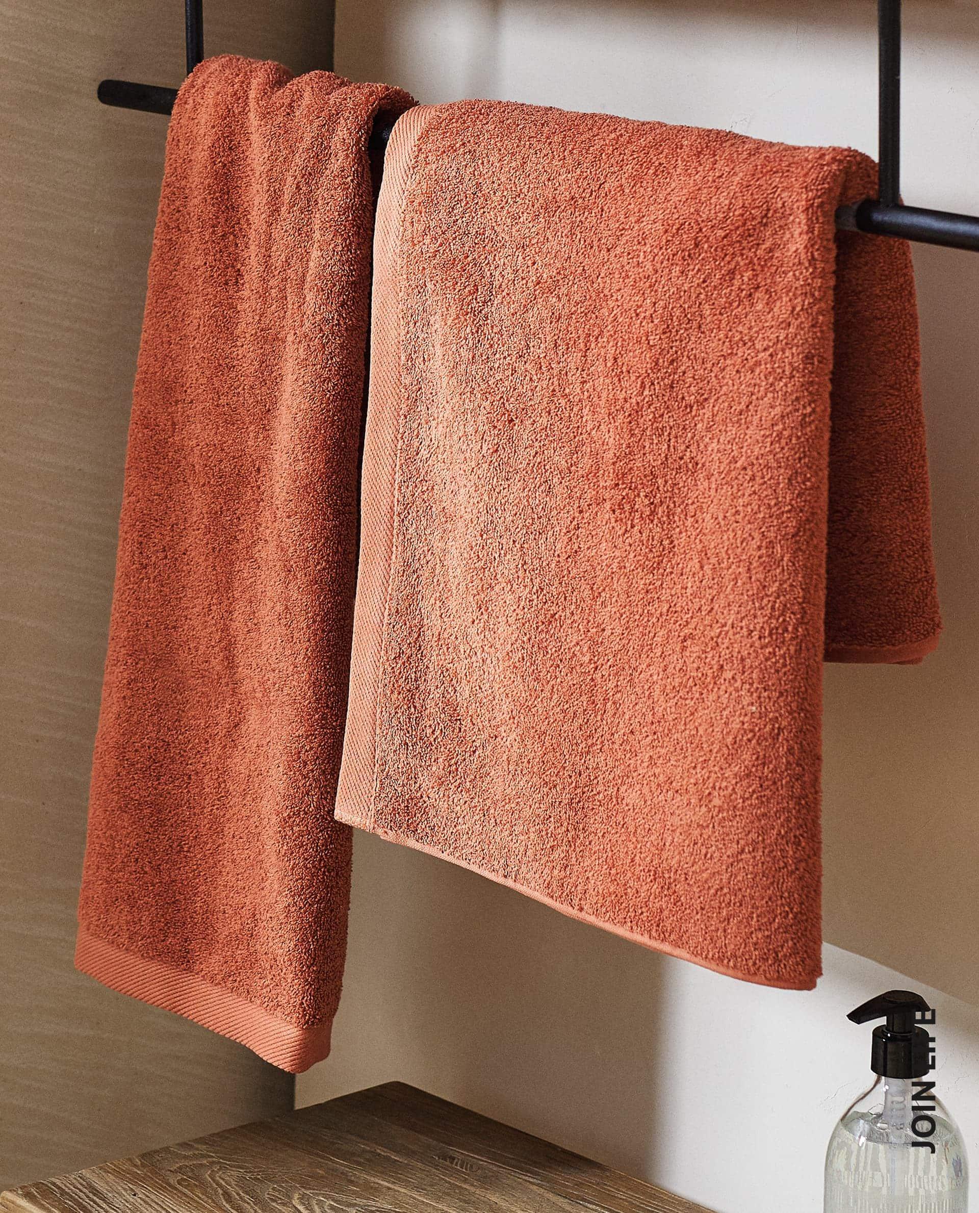 ECOLOGICALLY GROWN COTTON TOWEL - TOWELS - BATHROOM   Zara Home საქართველო  / Georgia