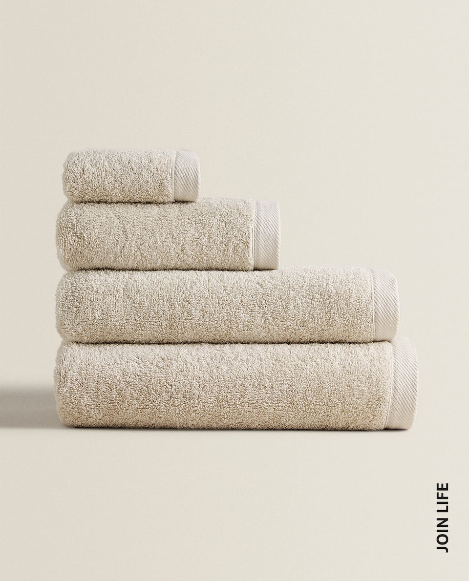 ECOLOGICALLY-GROWN COTTON TOWEL