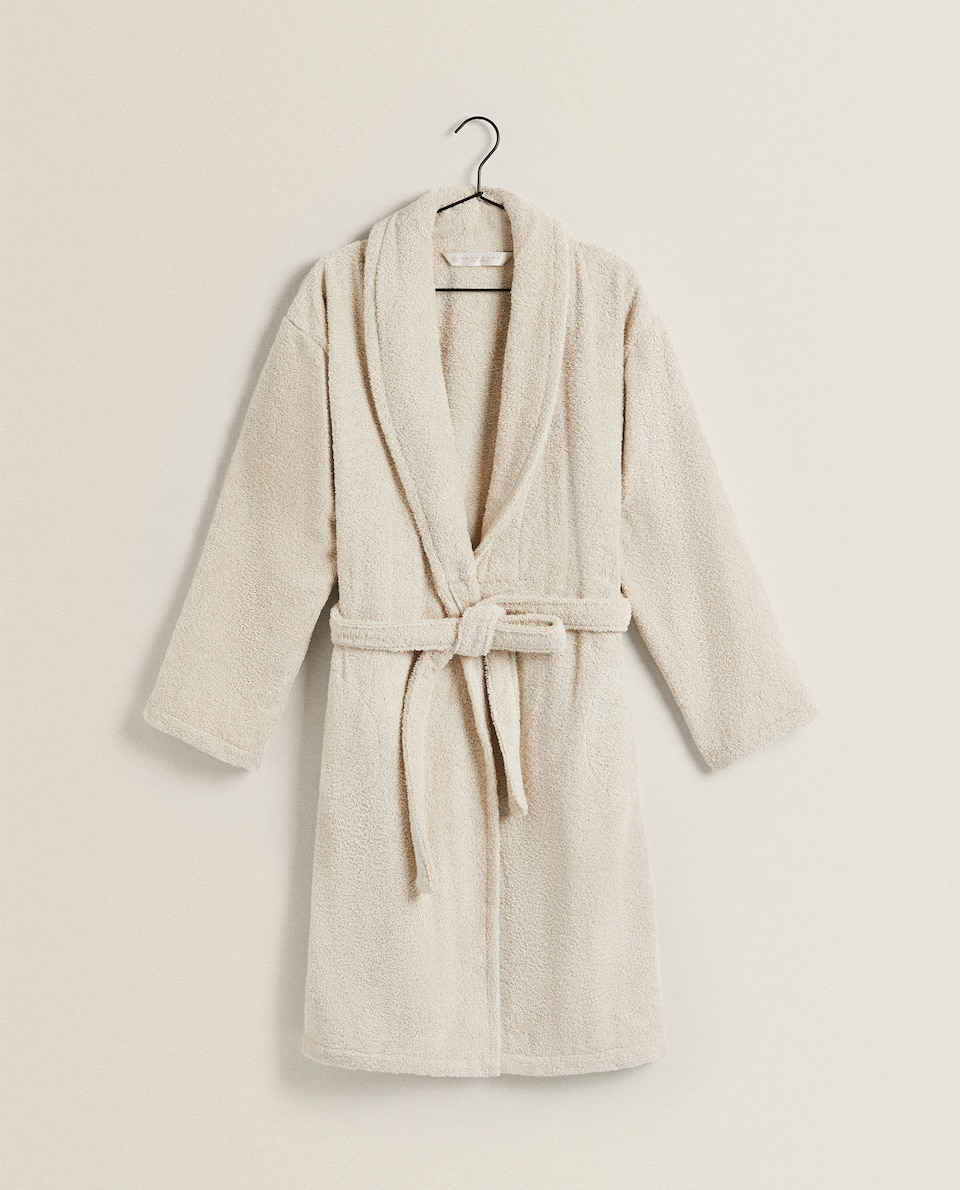 ECOLOGICALLY GROWN COTTON BATHROBE