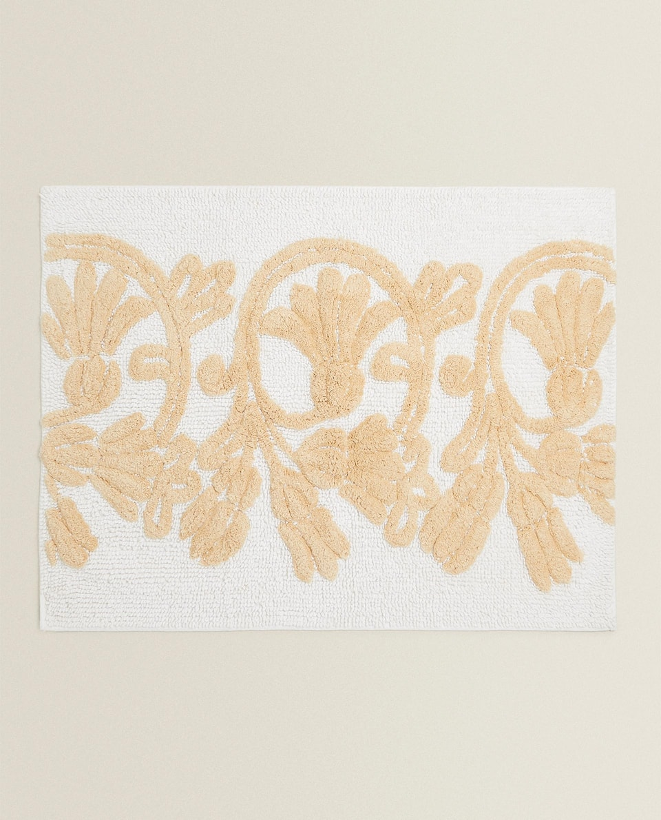 DECORATIVE BATH MAT