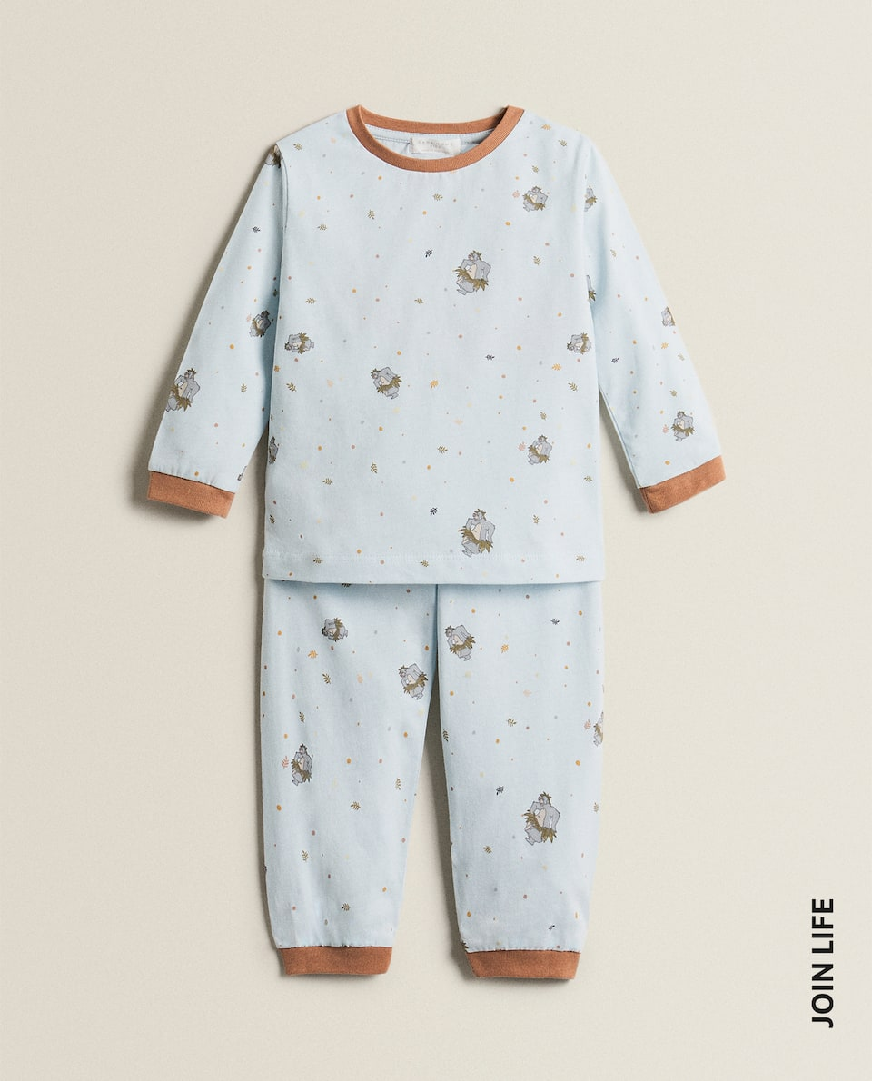SET OF BLUE JUNGLE BOOK PYJAMAS