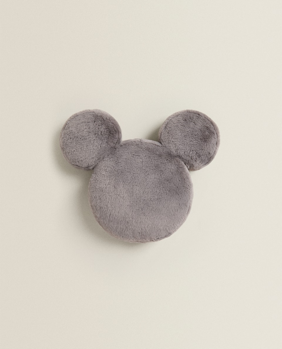 FUZZY MICKEY CUSHION