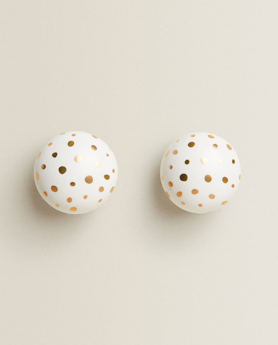 POLKA DOTS DOOR KNOB (PACK OF 2)