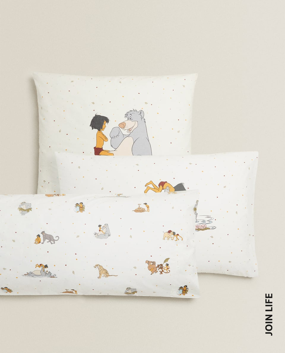 JUNGLE BOOK PILLOWCASE