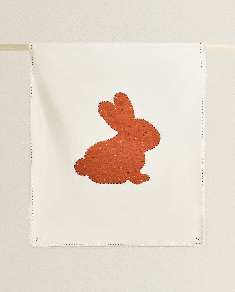 BUNNY DESIGN BLANKET