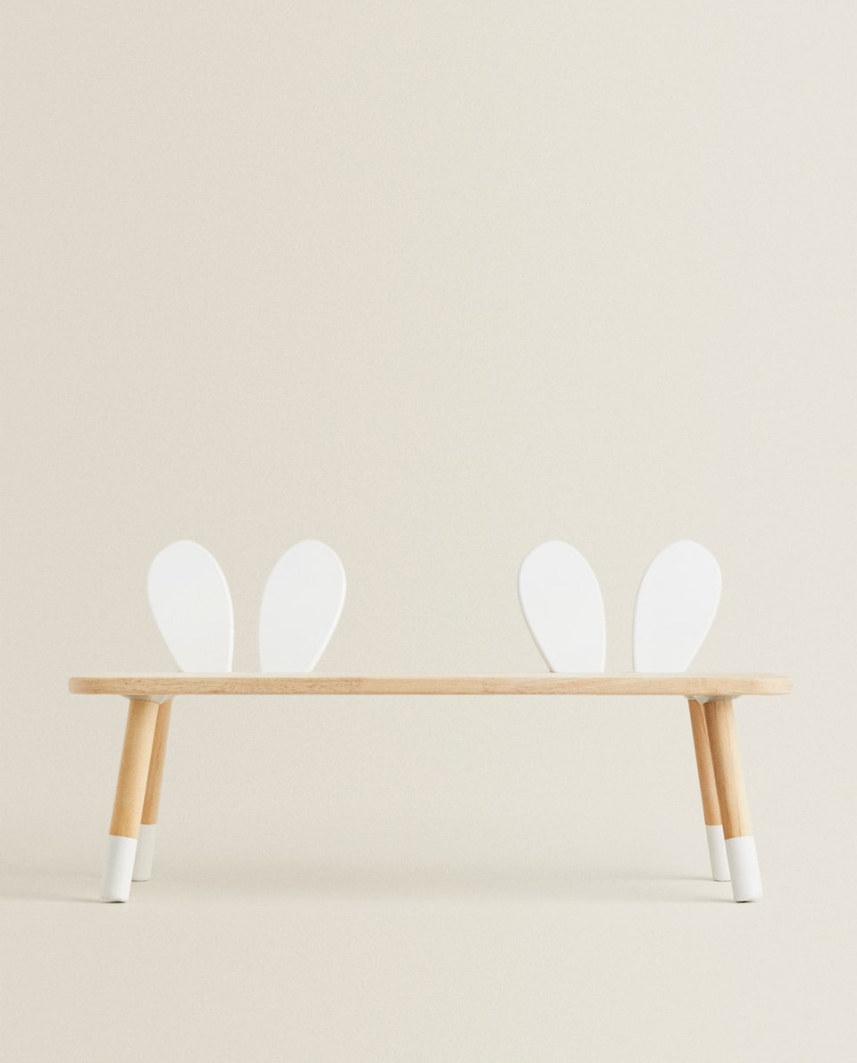 KIDS' RABBIT EARS BENCH